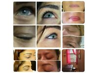 Semi-permanent make up treatment - Eyebrow, eyeliner or lip treatments