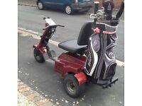 Golf buggy and trailer for sale. Veldon easy Ryder golf buggy and trailer all in great condition