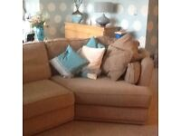 G plan sofa, angled corner unit