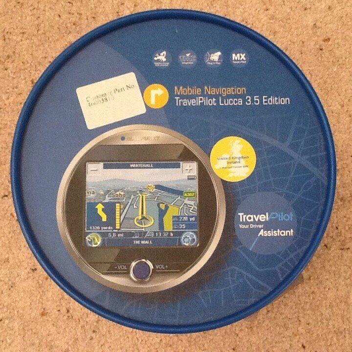 Blaupunkt Sat Nav TravelPilot Lucca 3.5 Edition with European Mapping