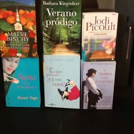 Spanish books , easyreads for Uni or A level students