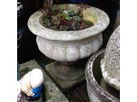 Heavy garden planter