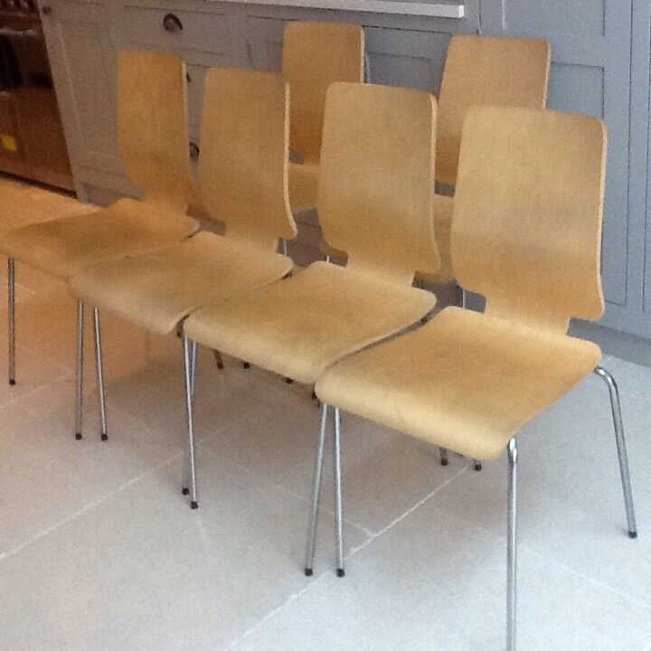 4 2 Ikea Gilbert Dining Chairs 4 2 Free Chairs In Chiswick