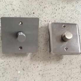 Dimmer Light switch pus brand switch boxed to cleat £8.50