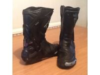 Motor bike boots size 11
