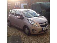 Champagne Chevy Spark LS