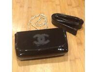 Chanel genuine small handbag pochette clutch. Promotional authentic bag. New & unused!