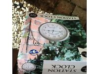 New in box - Large outdoor clock