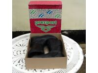 Motorcycle boots, Prexport size 6-7, black, hardly worn.