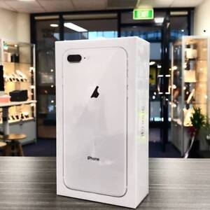 BRAND NEW SEALED IPHONE 8 PLUS 64GB SLIVER UNLOCKED WARRANTY Pacific Pines Gold Coast City Preview