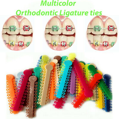 Orthodontic Ligature Ties Multicolor