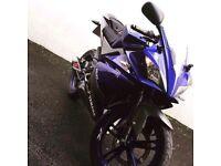 Yamaha YZF R125, akrapovic exhaust