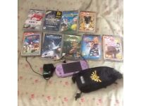 Sony PSP and nine games