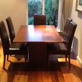 Top Quality Dining Table and Chairs
