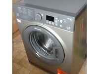 Hotpoint smart washing machine 9kg graphite