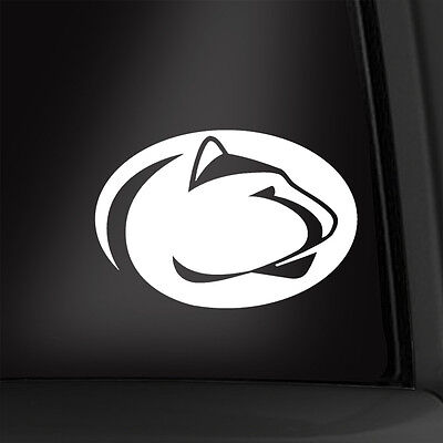 Penn State Nittany Lions 5 1/2 Inch Vinyl Decal Multiple Colors Available! New! Penn State Colors