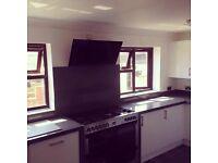 Carpenter Granite Effect Kitchen Worktop Installation