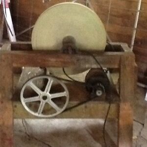 Antique grinding stone