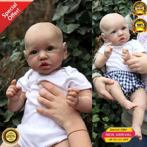 55CM silicone Saskia newborn baby reborn doll lifelike detailed hand paintin