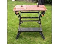Black and Decker large work bench