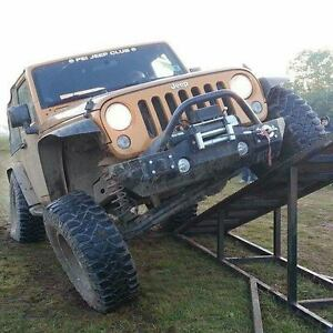 JK Mid Bumper Package With Winch