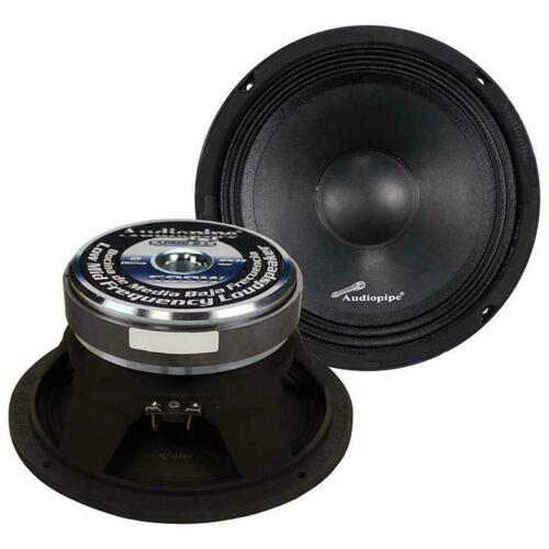 "Audiopipe APMB8 8"" 500 Watt Mid Bass Car Speaker Sold Individually"