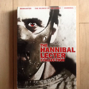 DVD THE HANNIBAL LECTER COLLECTION