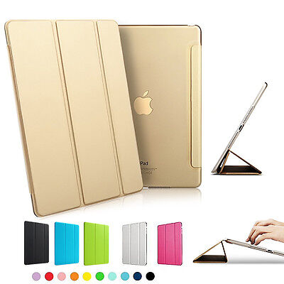 Magnetic Leather Smart Cover Case Sleep/Wake For Apple iPad Pro ipad mini4 Air 2