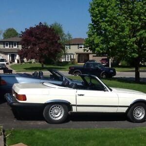 1974 450 sl Mercedes convertable