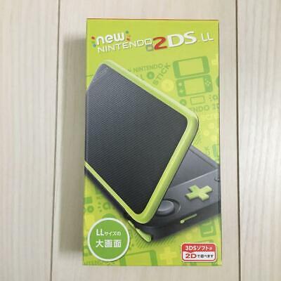 New Nintendo 2DS LL XL console Black x Lime Japan...