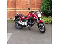 Ideal first learner bike. 125cc