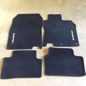 Nissan Qashqai 5 Carpet Floor Mats Genuine J10