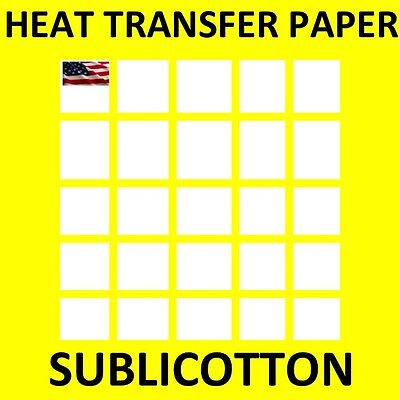 SUBLICOTTON HEAT TRANSFER PAPER  200 PK 8.5