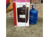 4.2kw Portable Gas Cabinet Heater with FULL 15kg Calor Bottle BRAND NEW STOCK CLEARANCE