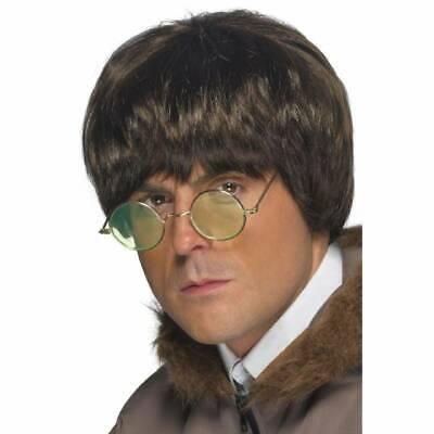 90's Brit Pop Perücke Oasis Liam, Noel Gallagher Kostüm Kostüm Herren - Gallagher Kostüm