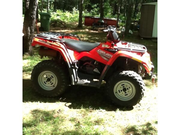Used 2007 BRP Can-am outlander 400 HO