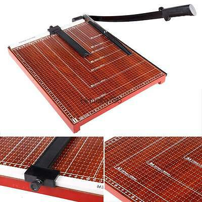 Top 18x15 Inch Sturdy Metal Base Paper Cutter Trimmer Scrap Booking