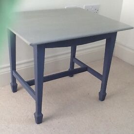 Small Table painted grey (see my dining table & chairs ad) for dining room, bedroom, hall etc