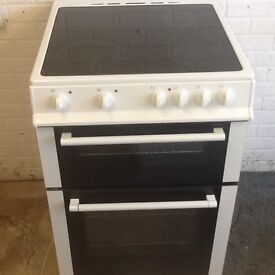 Electric cooker double oven (ceramic top) -(60cm -wide) can deliver local
