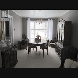 Dining Room Set (Table, Chairs, China Cabinet)