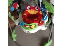 For sale: Fisher price rainforest jumperoo