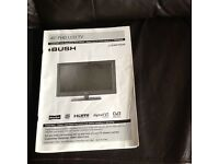 """40"""" BUSH FHD LCD TV plus extras"""