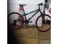 "Men's 26"" URBAN hand built Bike 18 speed new cables just had full service cb5 £95"