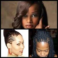 weaves and braids for African hair NW