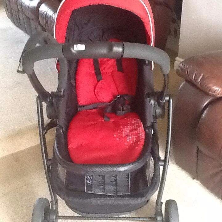 Graco Evo Travel System with Carrycot