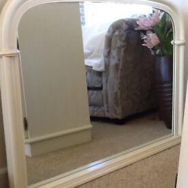 Cream arch Mirror