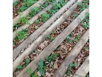 Fencing posts and poles treated wooden stock fencing variety of lengths as listed below