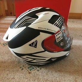 BNIB LS2 Motorcycle Helmet Size Medium with Extras **Now Reduced**