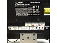 """Technika 19"""" LCD TV & DVD player."""