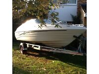 MARIAH 180. 18ft Bowrider with 3.0ltr Mercruiser and SBS Roller Trailor